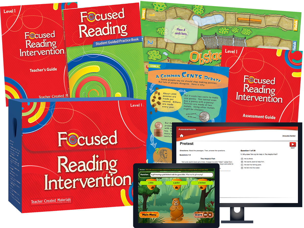Focused Reading Intervention: Level 1 Kit