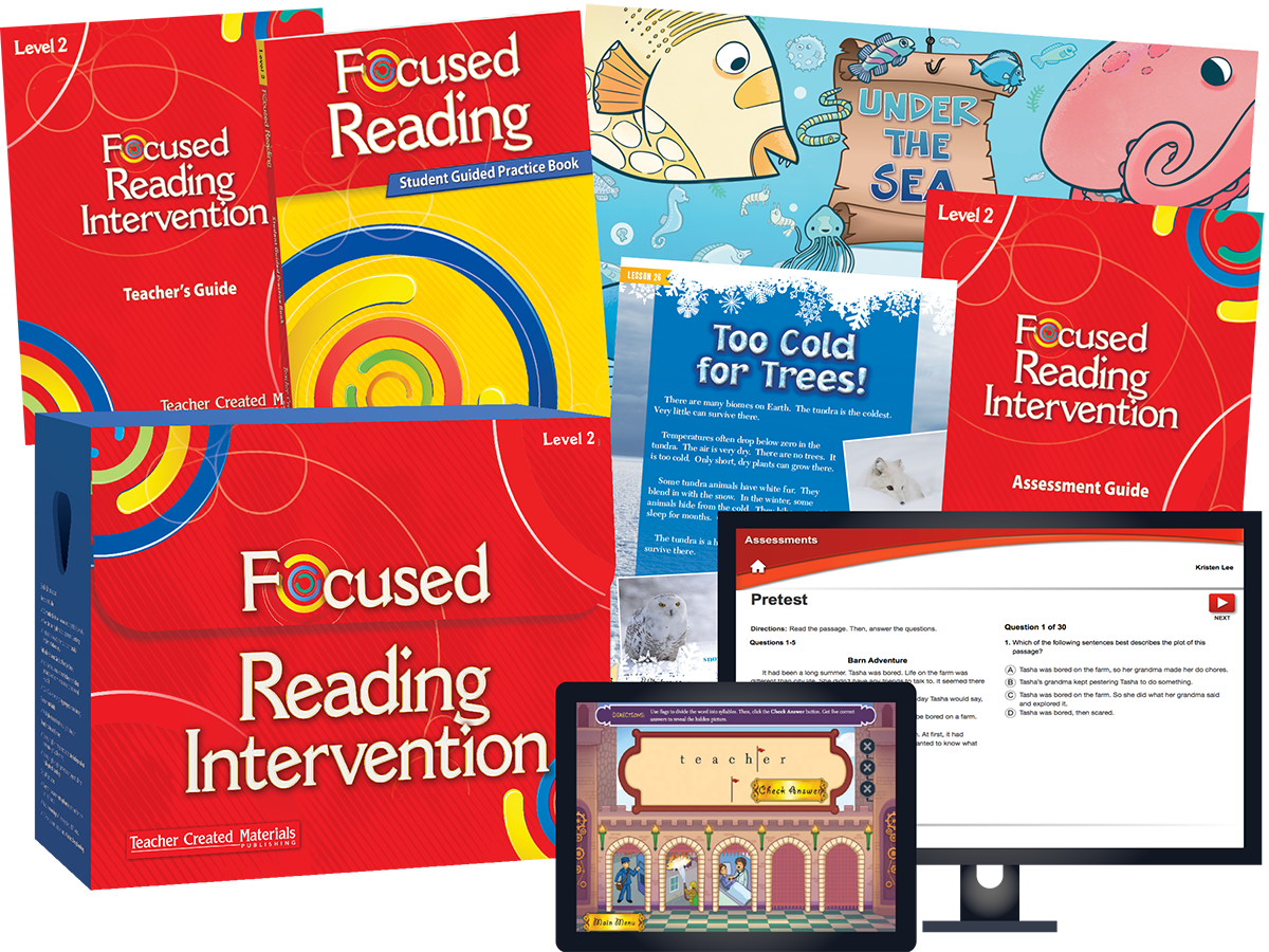 Focused Reading Intervention: Level 2 Kit
