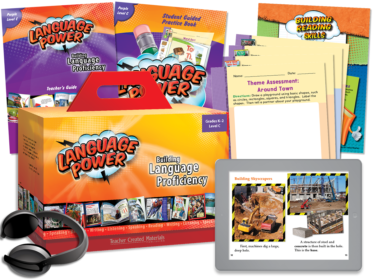 Language Power: Grades K-2 Level C Kit