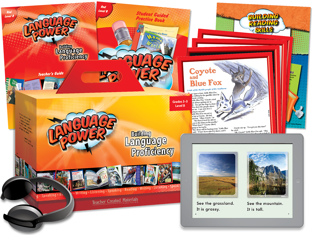 Language Power: Grades 3-5 Level B Kit