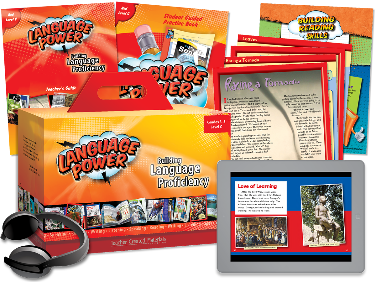 Language Power: Grades 3-5 Level C Kit
