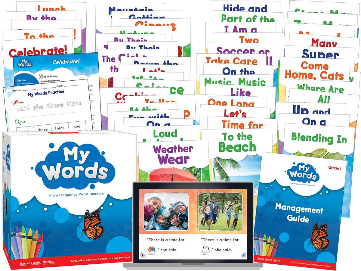 My Words Readers: Grade 1 Kit