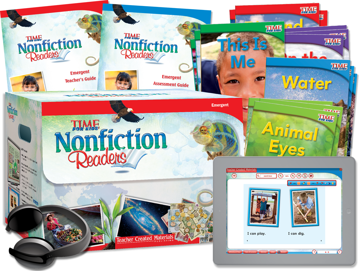 Nonfiction Readers: Emergent Kit