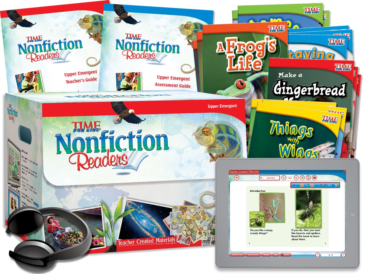 Nonfiction Readers: Upper Emergent Kit