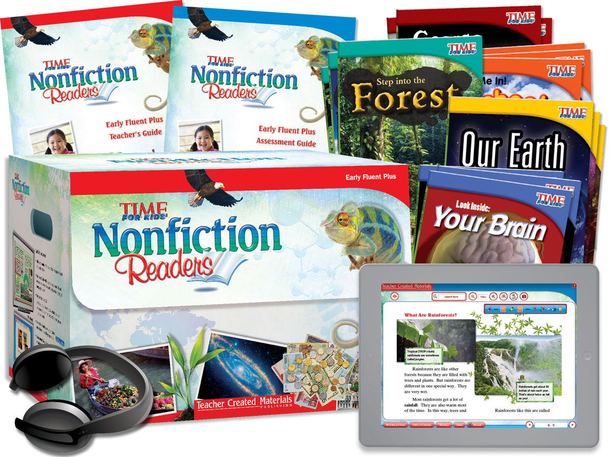 Nonfiction Readers: Early Fluent Plus Kit