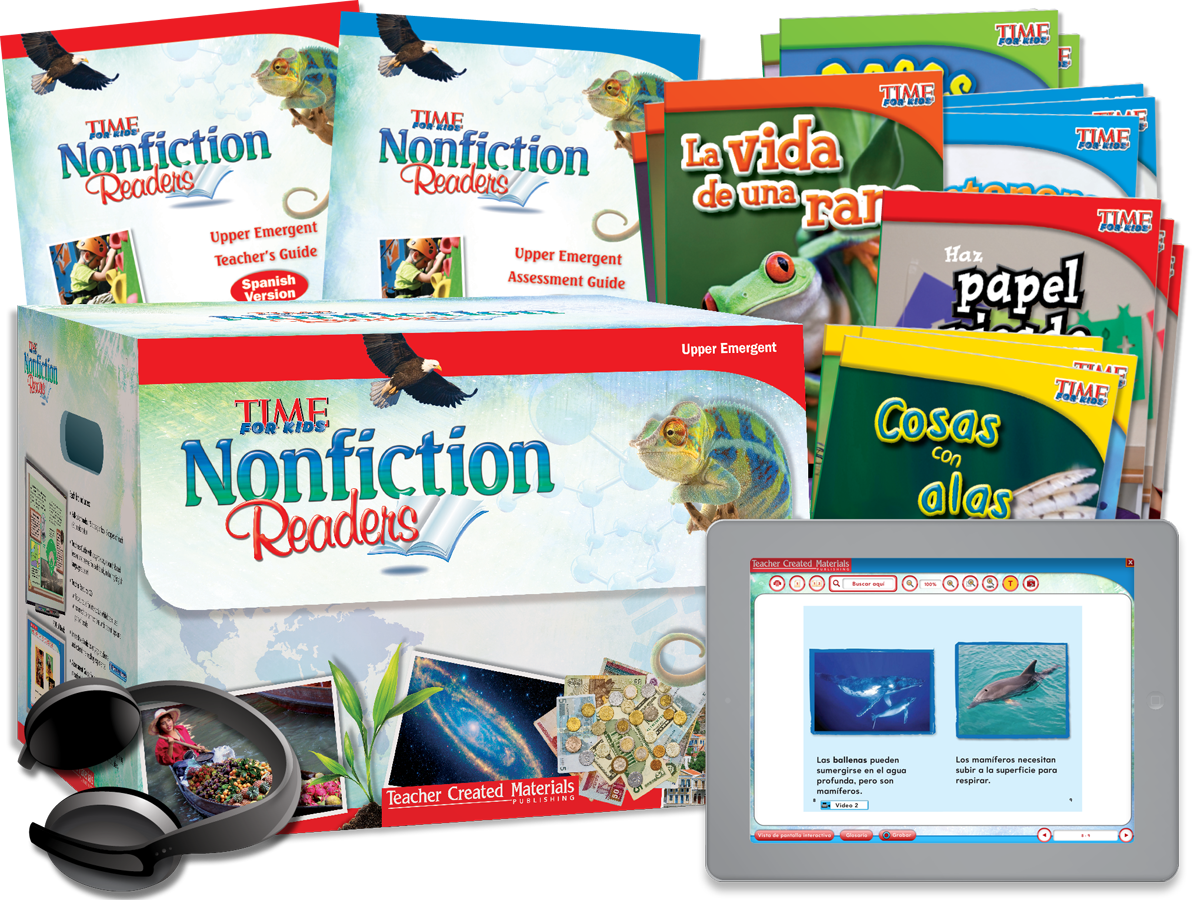 Nonfiction Readers: Upper Emergent Kit (Spanish Version)