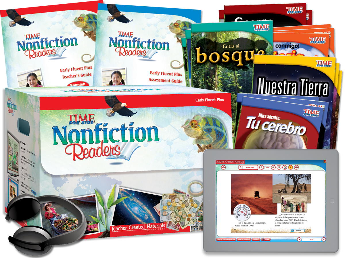 Nonfiction Readers: Early Fluent Plus Kit (Spanish Version)