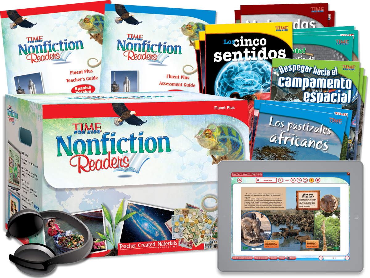Nonfiction Readers: Fluent Plus Kit (Spanish Version)