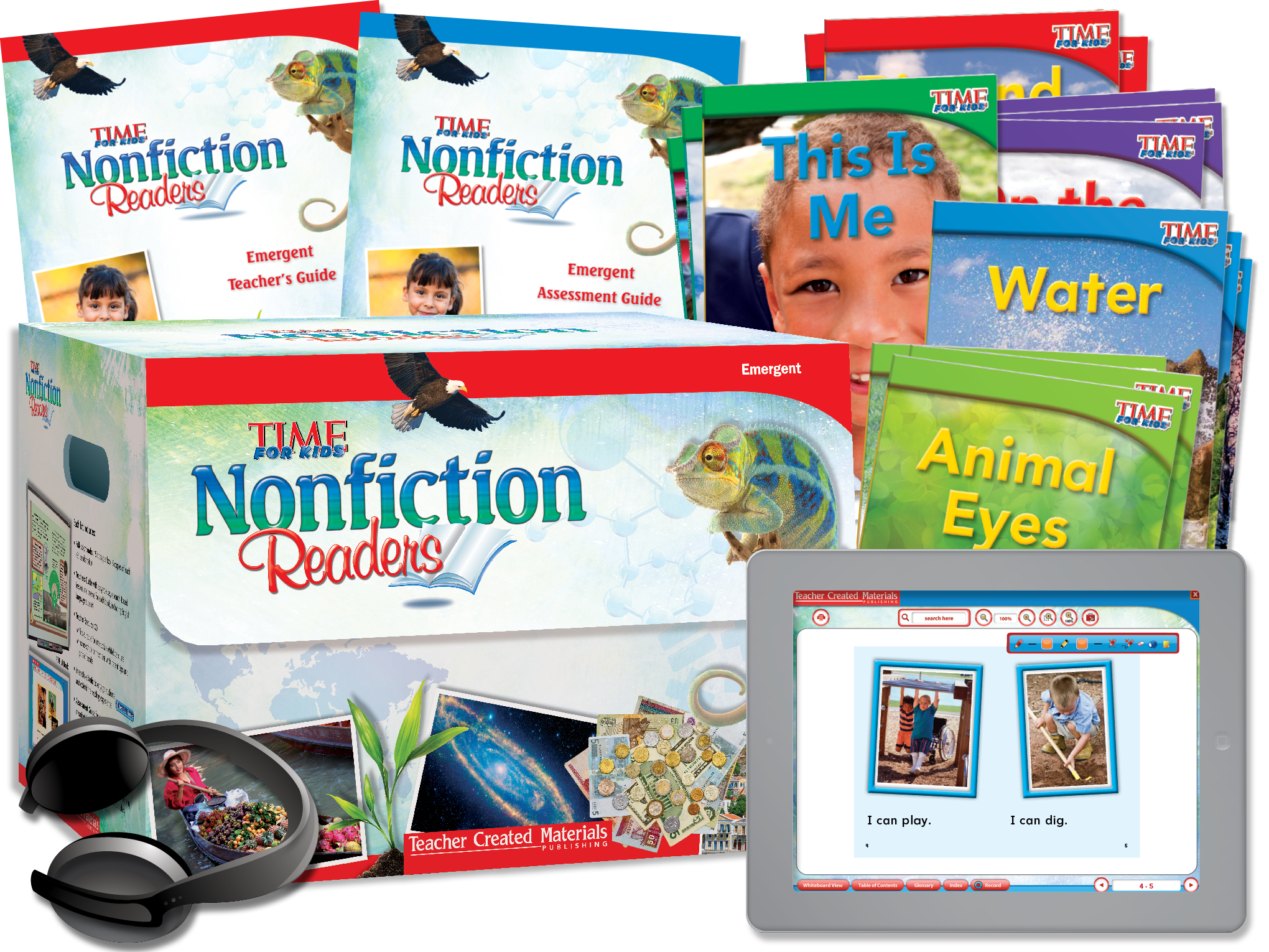 TIME FOR KIDS® Nonfiction Readers: Emergent Kit