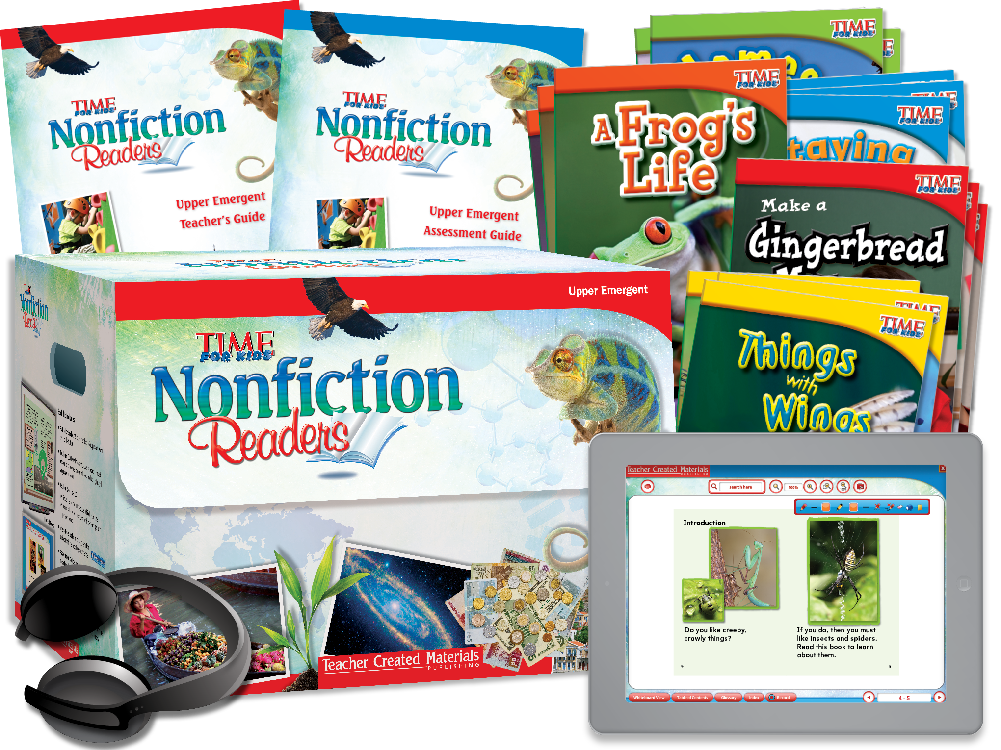 TIME FOR KIDS® Nonfiction Readers: Upper Emergent Kit