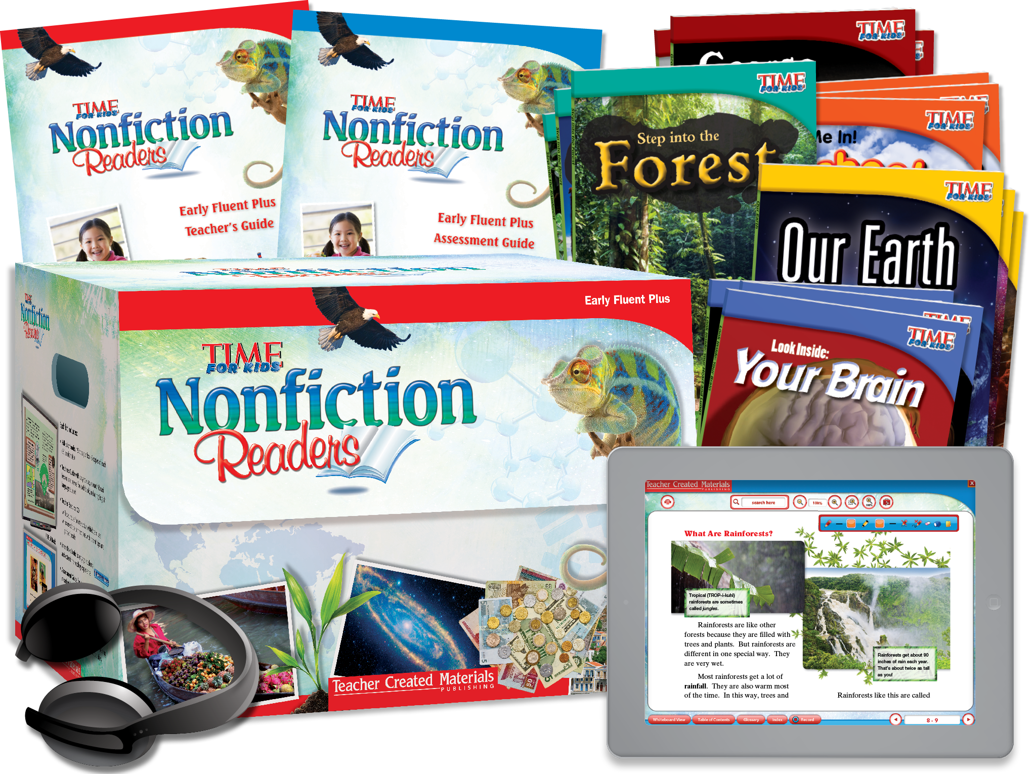 TIME FOR KIDS® Nonfiction Readers: Early Fluent Plus Kit