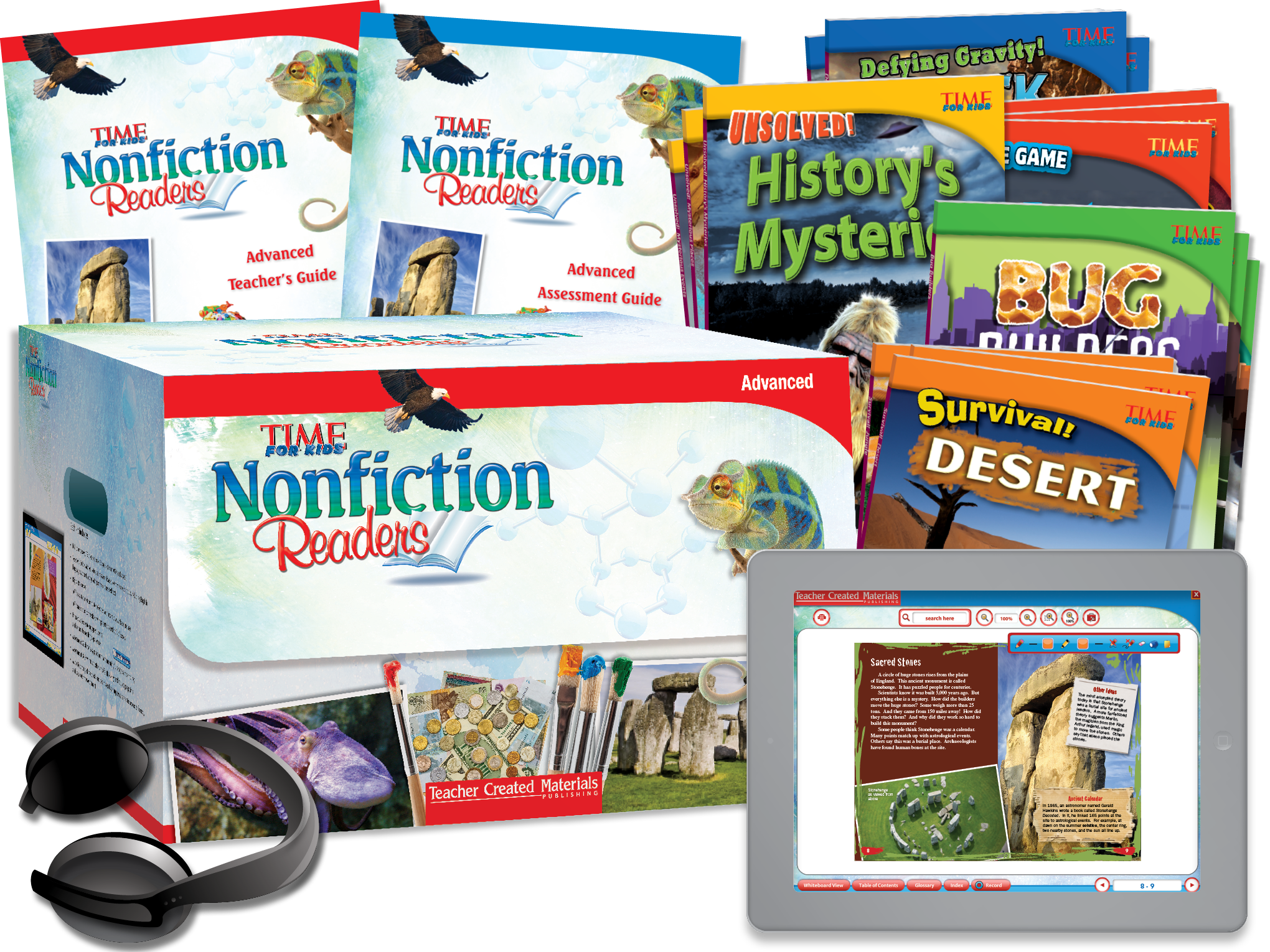 TIME FOR KIDS® Nonfiction Readers: Advanced Kit