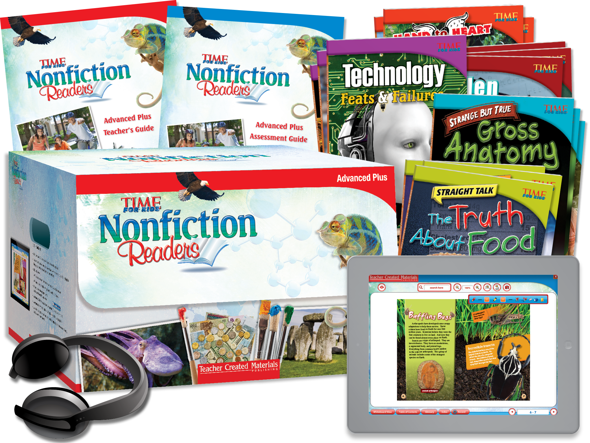 TIME FOR KIDS® Nonfiction Readers: Advanced Plus Kit