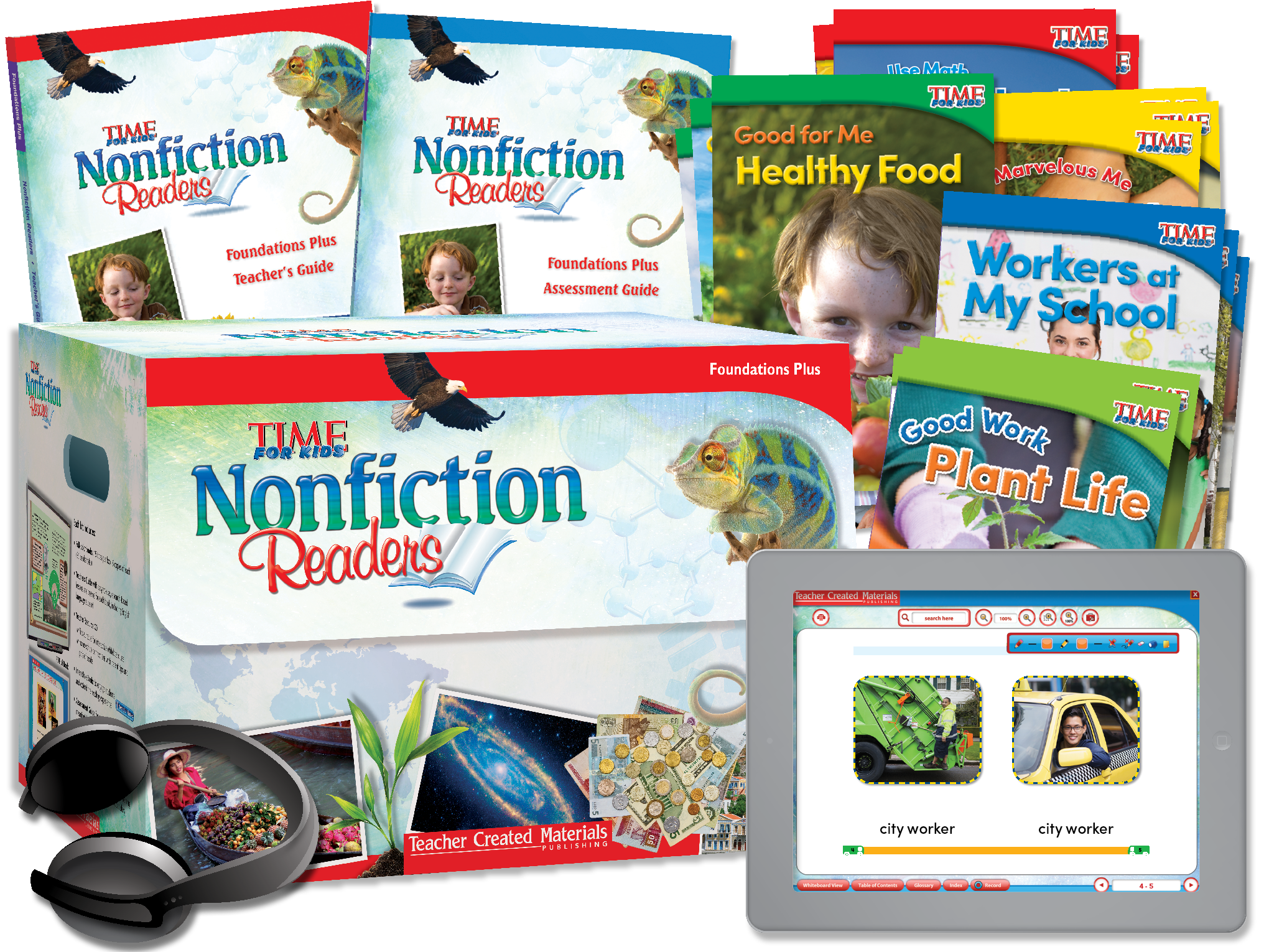 TIME FOR KIDS® Nonfiction Readers: Foundations Plus Kit