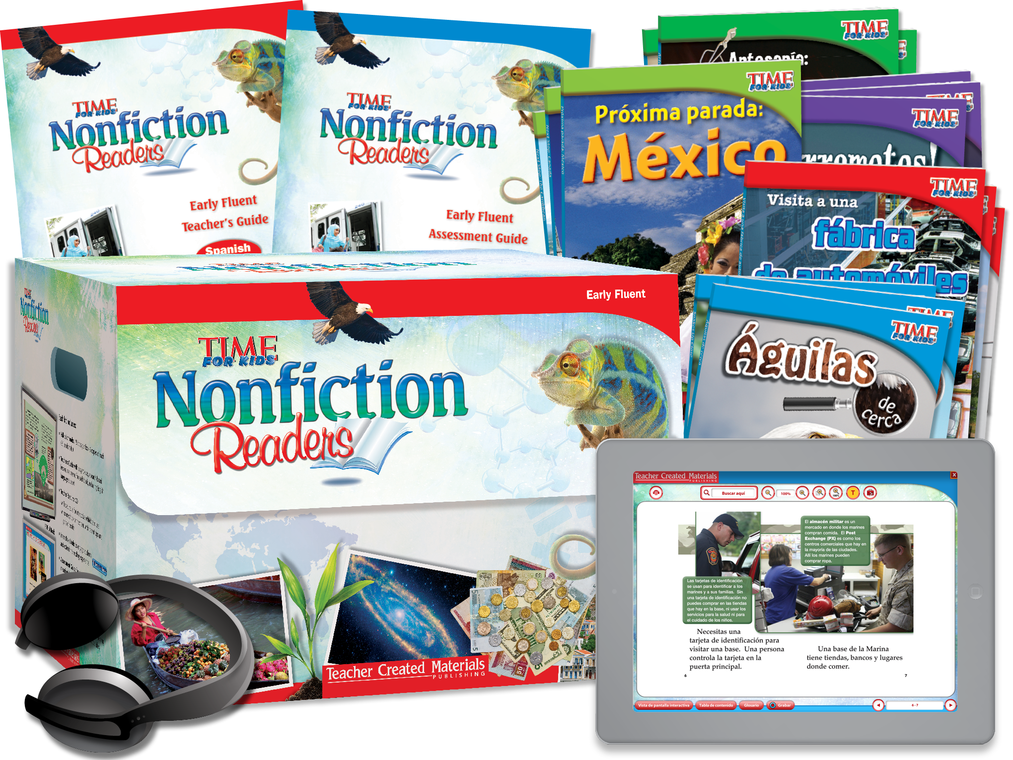 TIME FOR KIDS® Nonfiction Readers: Early Fluent Kit (Spanish Version)