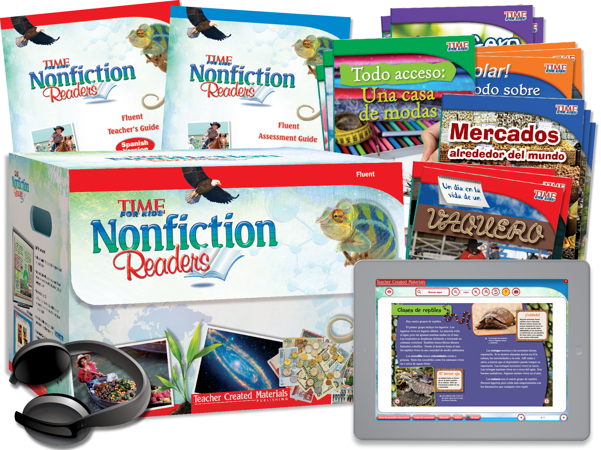 TIME FOR KIDS® Nonfiction Readers: Fluent Kit (Spanish Version)