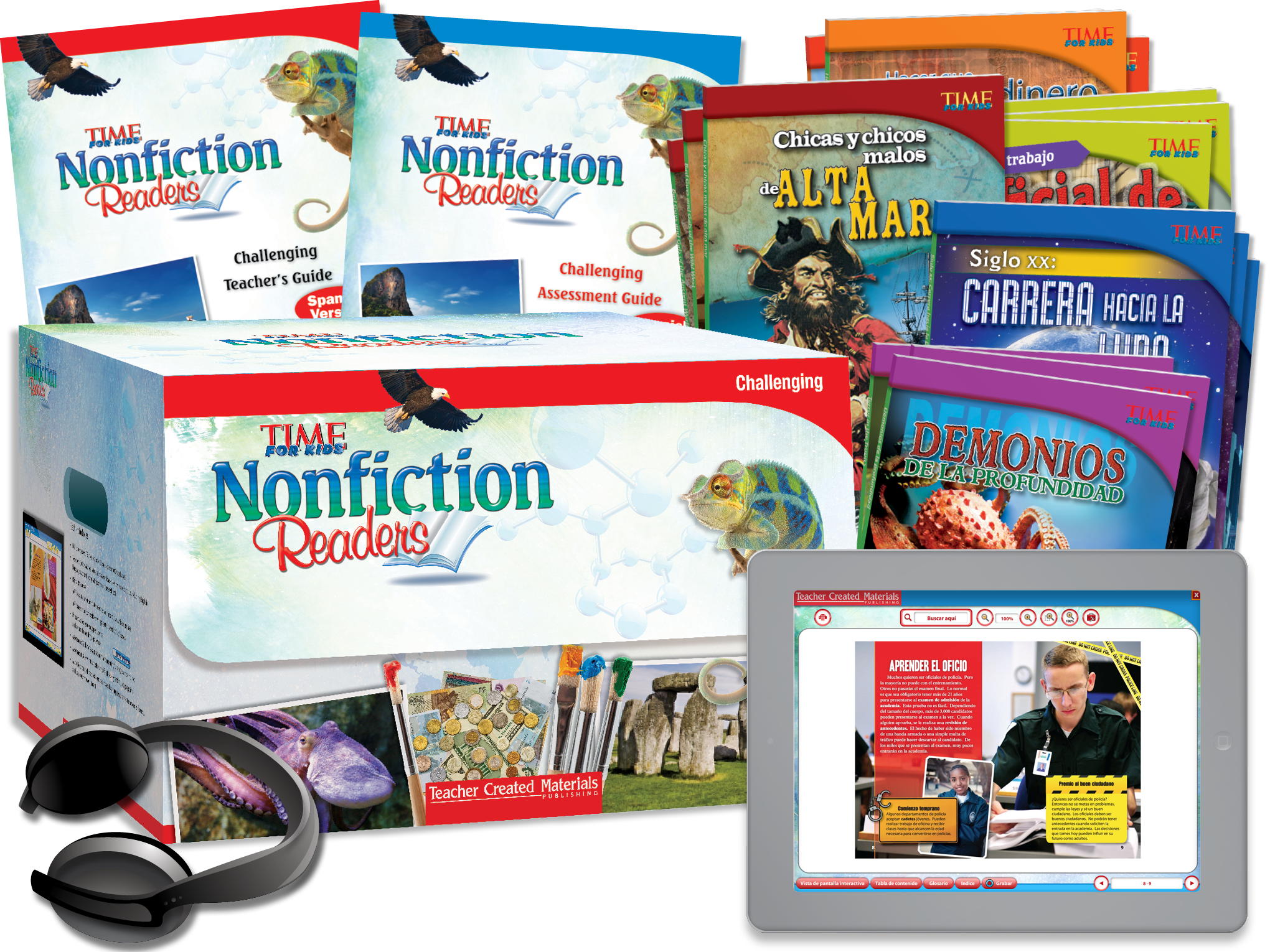 TIME FOR KIDS® Nonfiction Readers: Challenging Kit (Spanish Version)