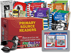 Primary Source Readers: Biografías de estadounidenses (American Biographies) Kit (Spanish Version)