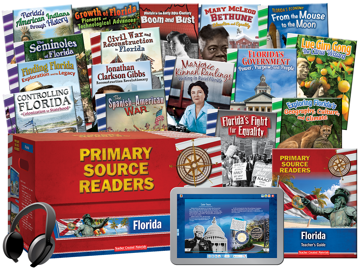 Primary Source Readers: Florida Kit