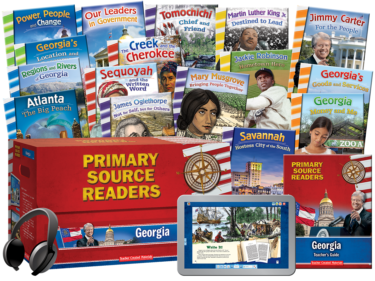 Primary Source Readers: Georgia Kit