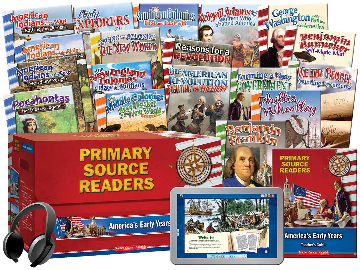 Primary Source Readers: America's Early Years Kit
