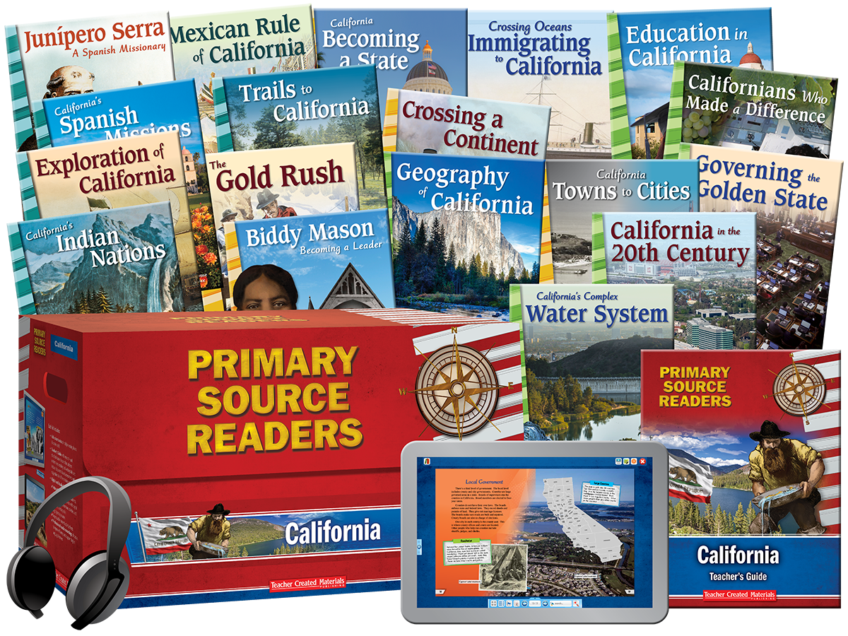 Primary Source Readers: California Kit