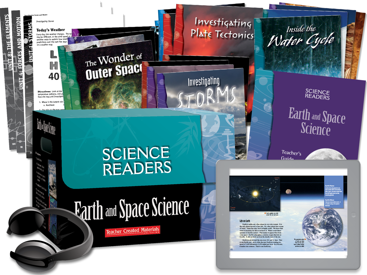 Science Readers: Earth and Space Science Kit