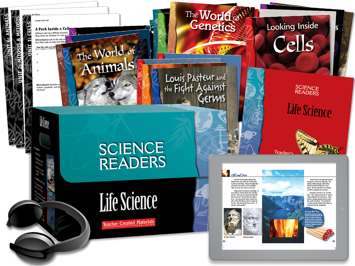 Science Readers: Life Science Kit