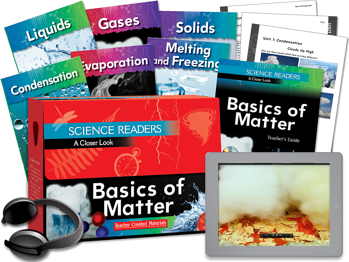 Science Readers: A Closer Look: Basics of Matter Kit