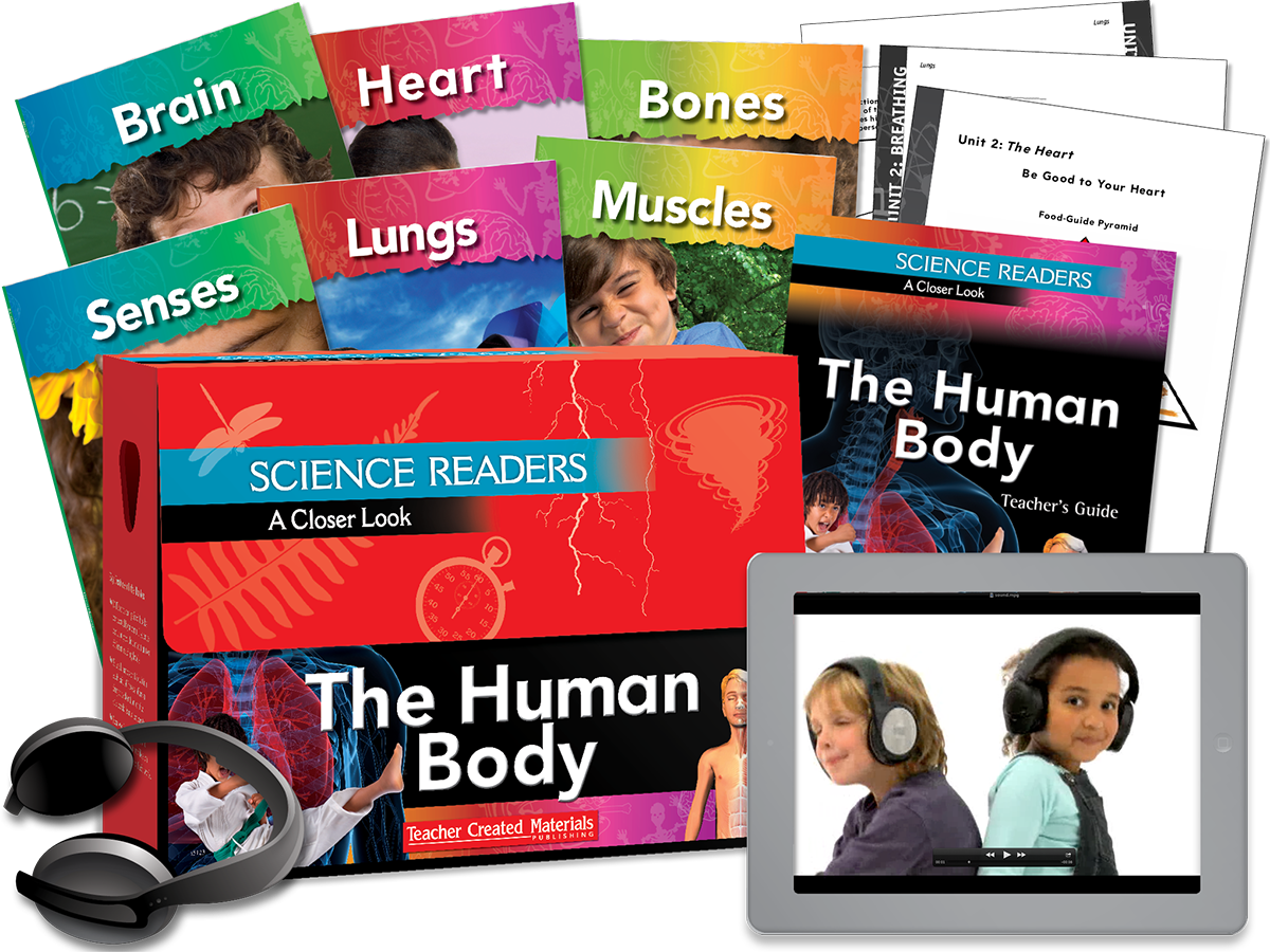 Science Readers: A Closer Look: The Human Body Kit