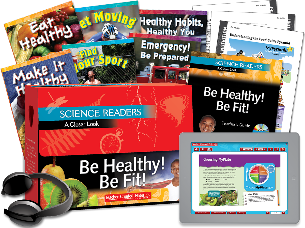 Science Readers: A Closer Look: Be Healthy! Be Fit! Kit
