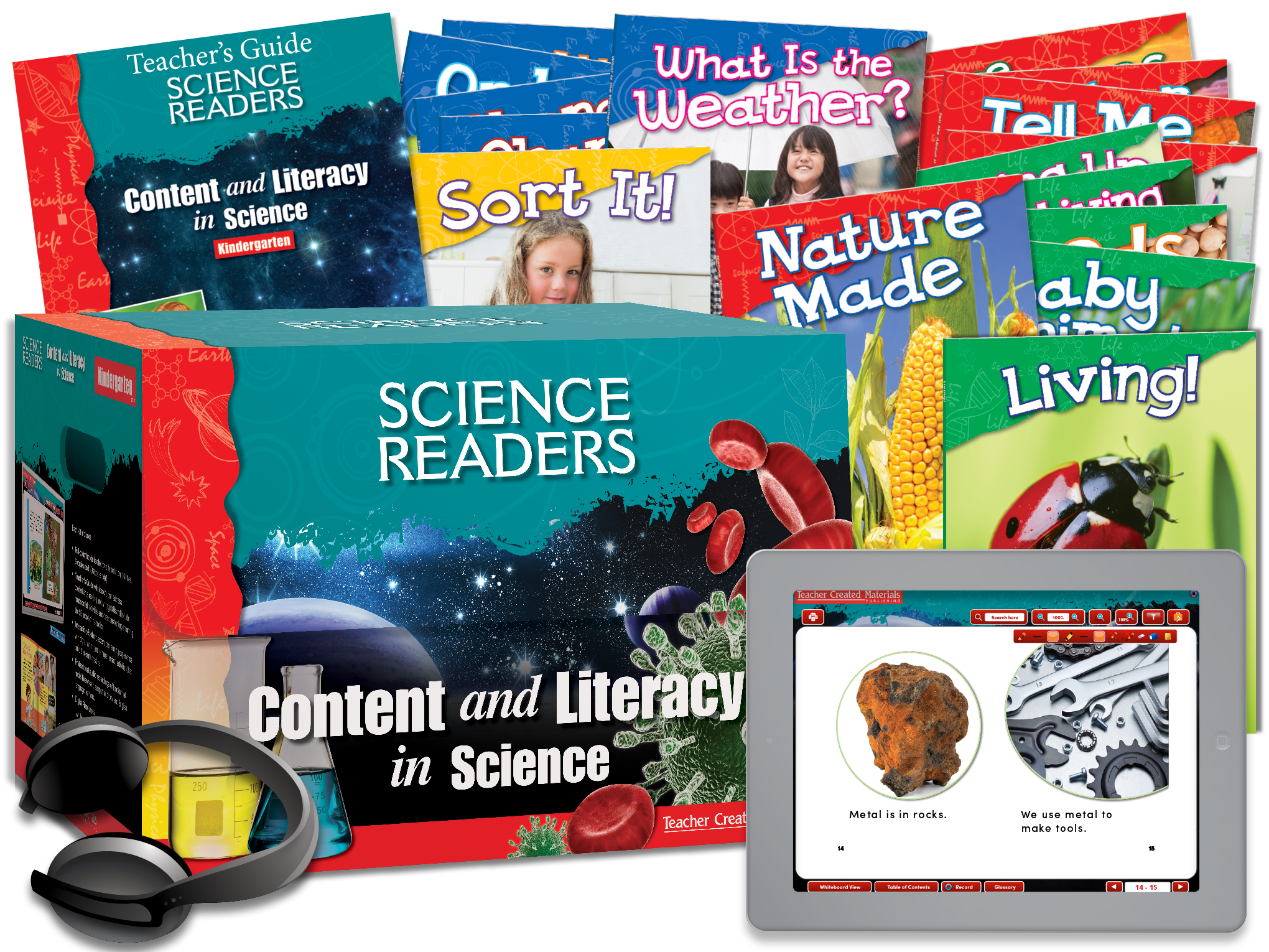 Science Readers: Content and Literacy: Kindergarten Kit
