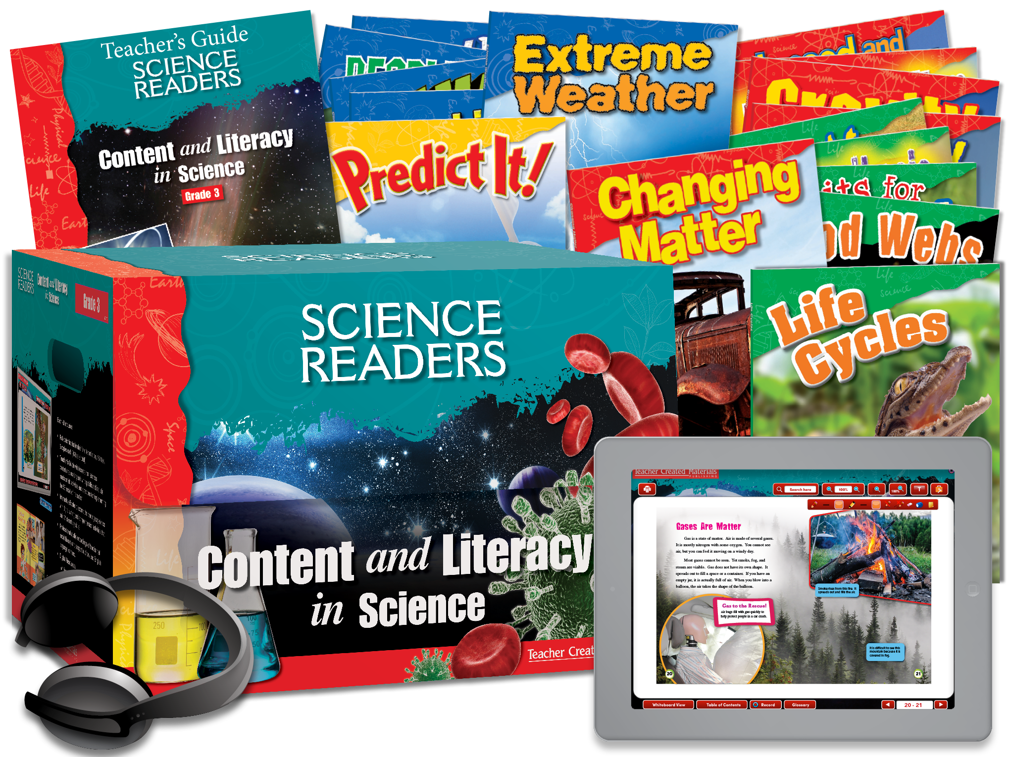 Science Readers: Content and Literacy: Grade 3 Kit