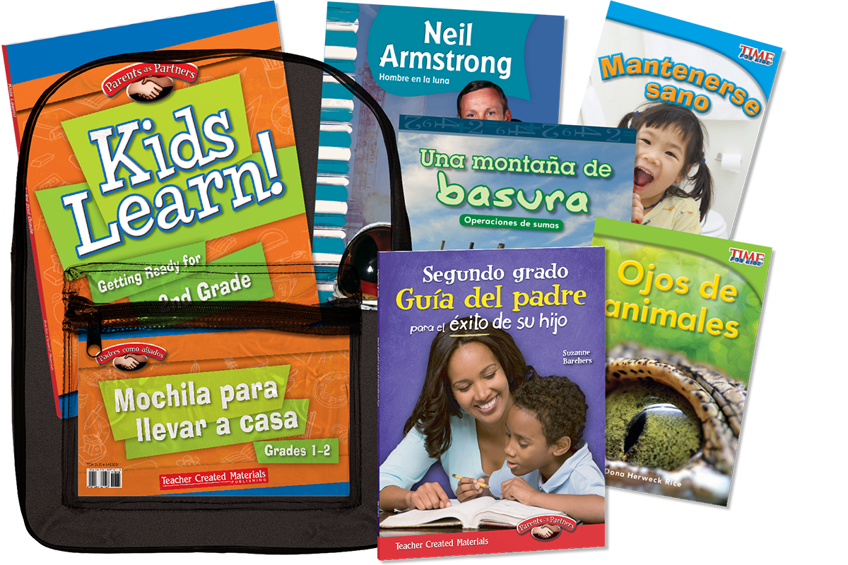 Take-Home Backpacks: Grade 1-2 (Spanish Version)