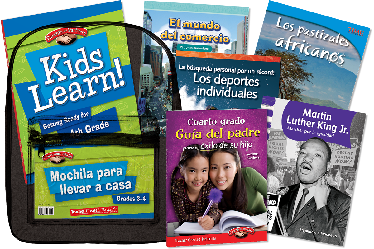 Take-Home Backpacks: Grade 3-4 (Spanish Version)