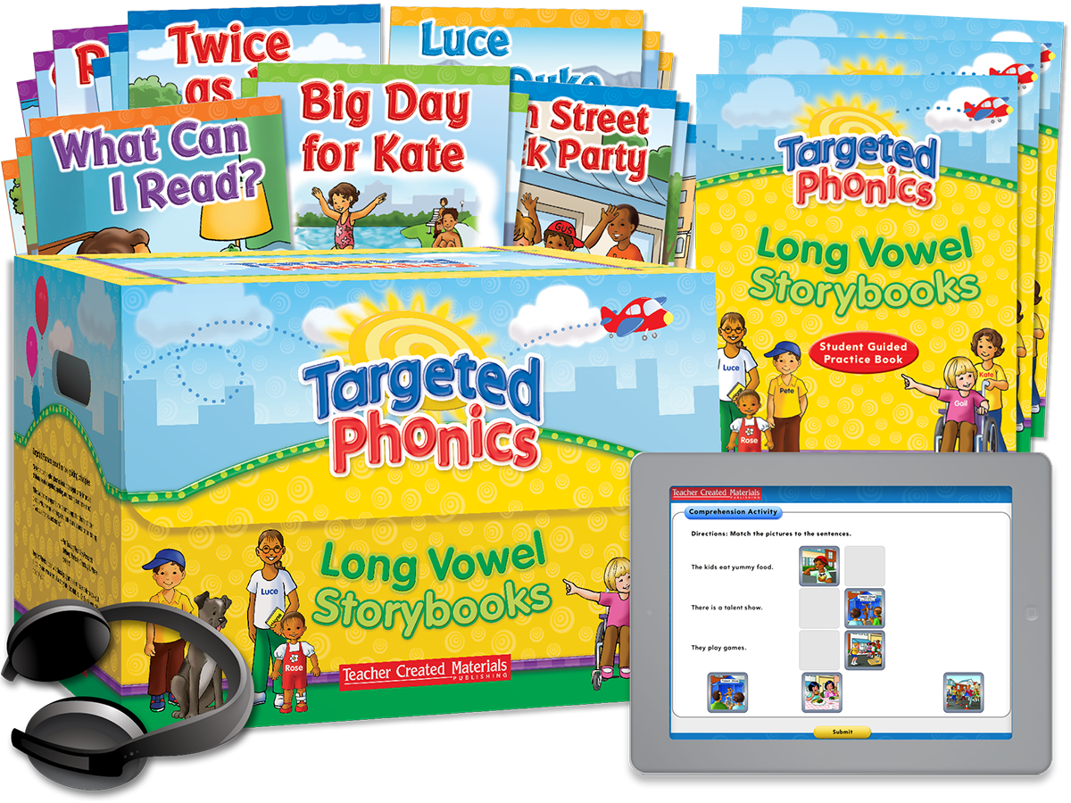 Targeted Phonics: Long Vowel Storybooks Kit