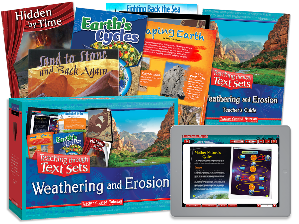 Teaching through Text Sets: Weathering and Erosion Kit