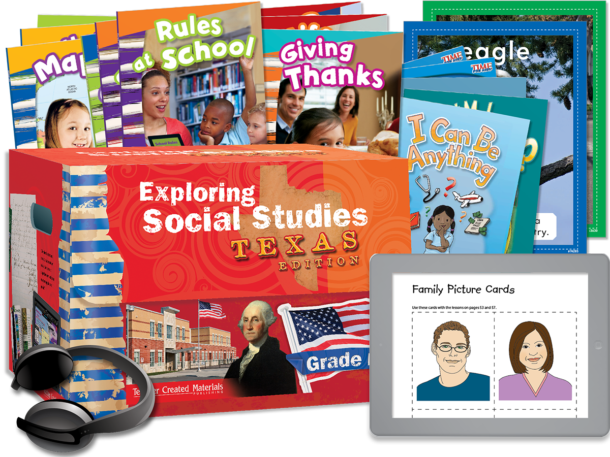 Exploring Social Studies: Texas Edition Grade K Bundle