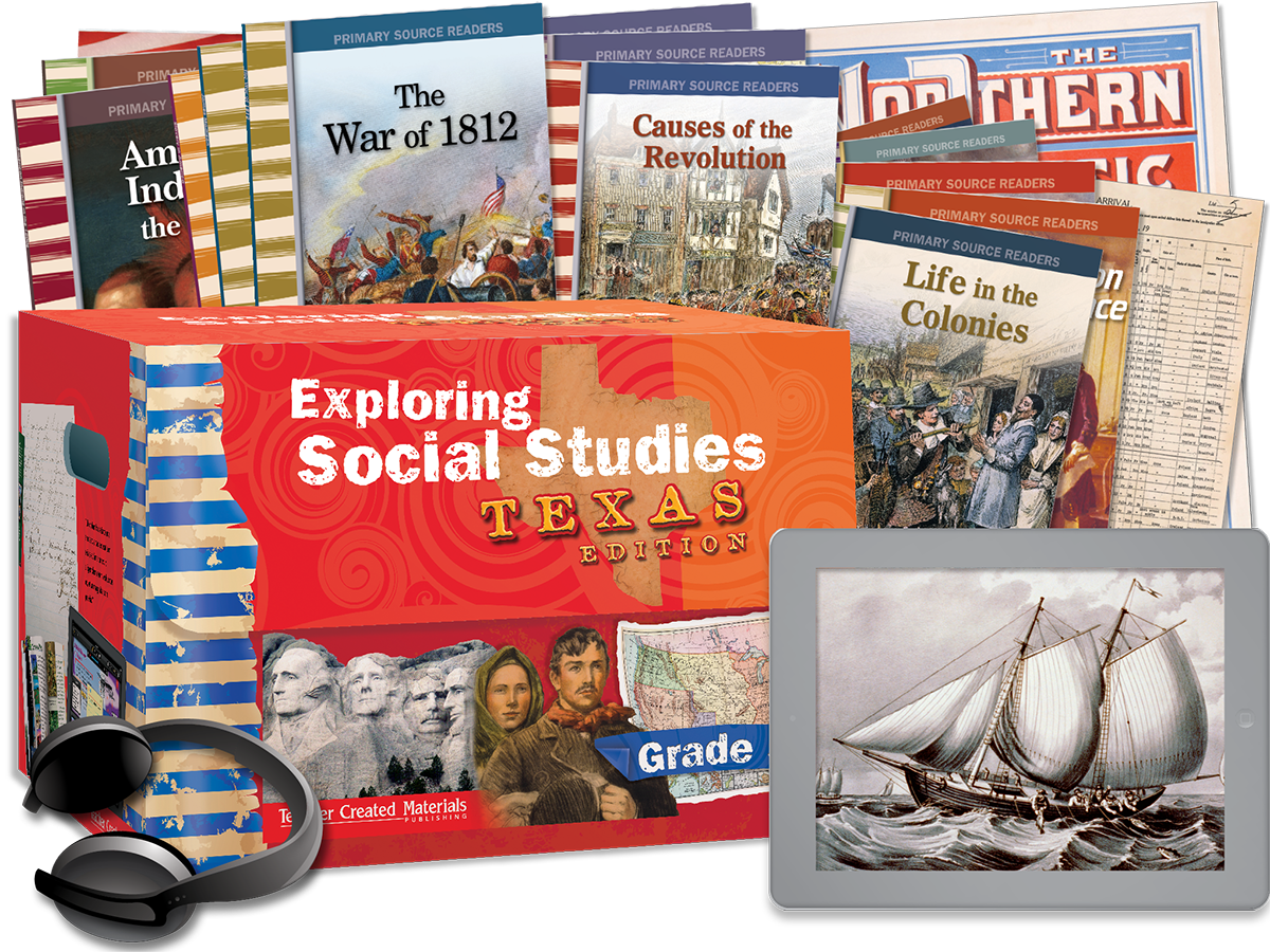 Exploring Social Studies: Texas Edition Grade 5 Bundle