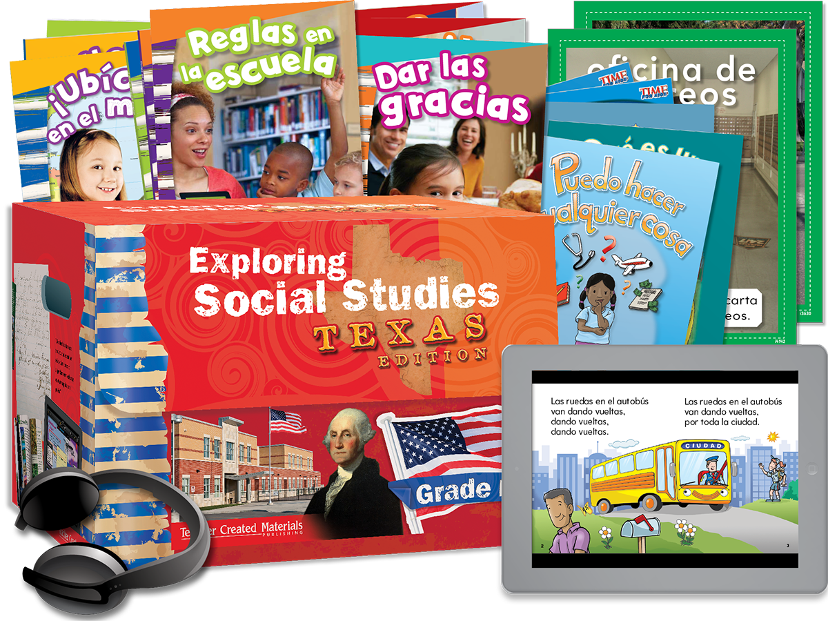 Exploring Social Studies: Texas Edition Grade K Bundle (Spanish Version)