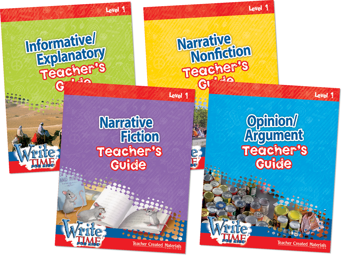 Write TIME FOR KIDS®: Level 1 Kit