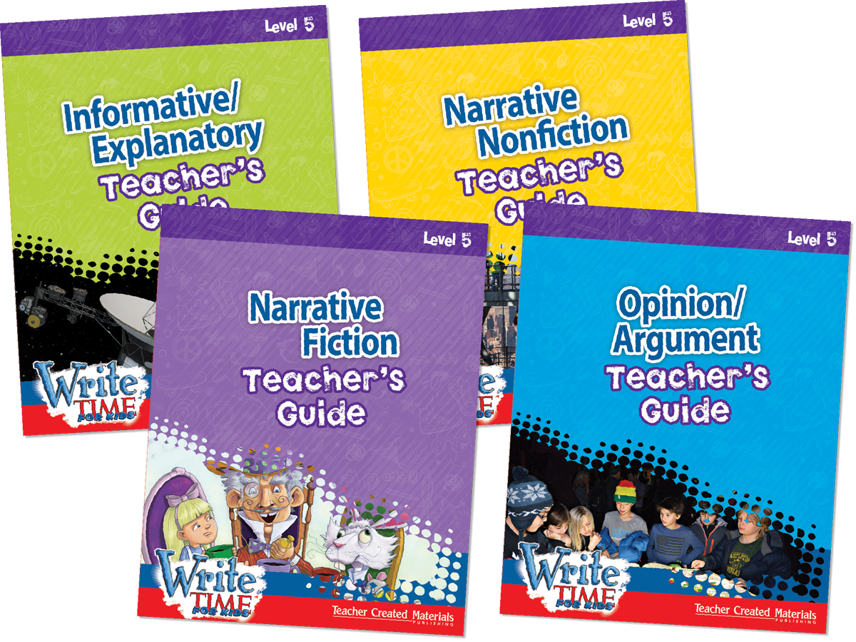 Write TIME FOR KIDS®: Level 5 Kit