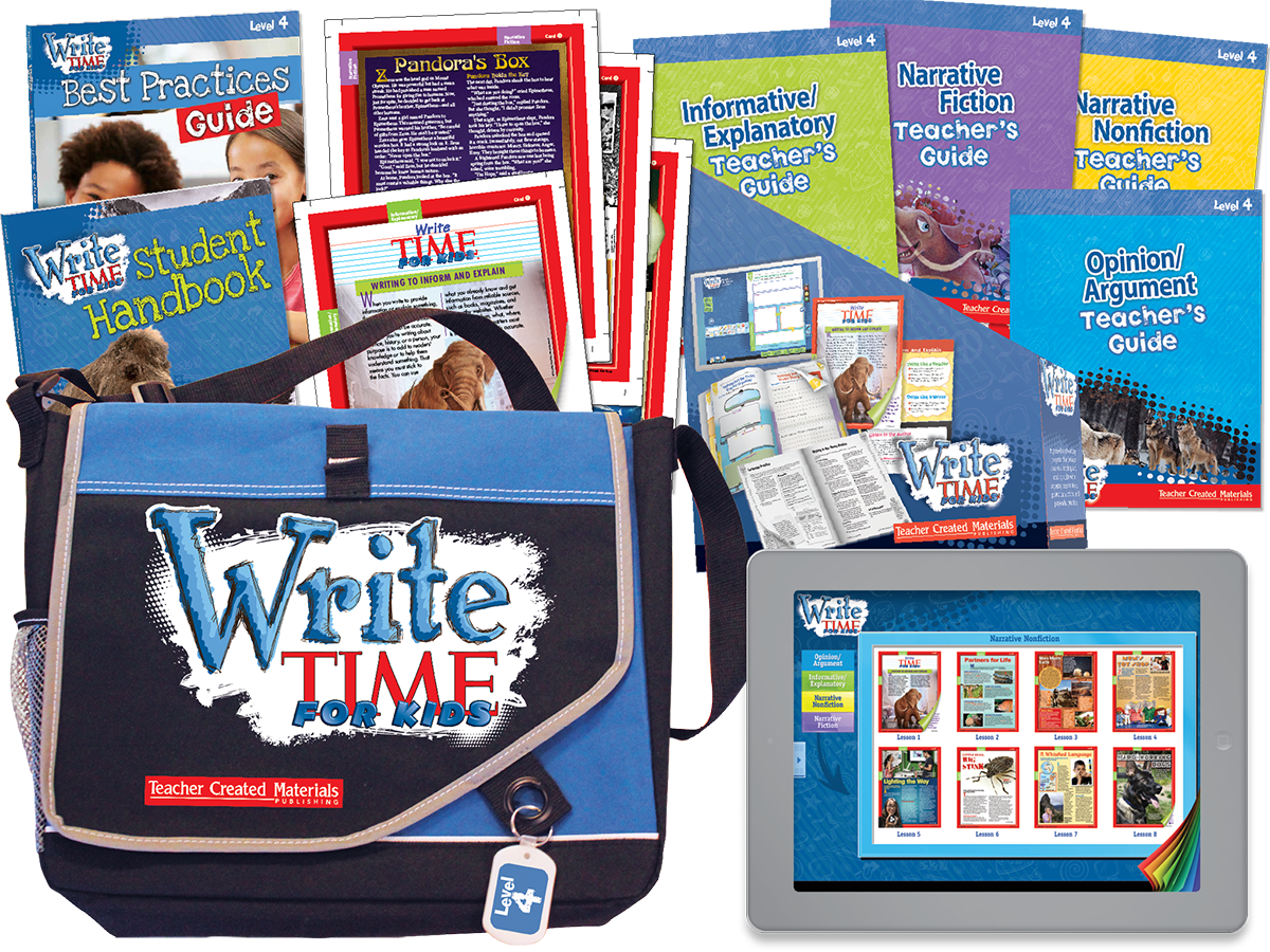 Write TIME FOR KIDS®: Level 4 Kit