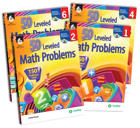50 Leveled Math Problems
