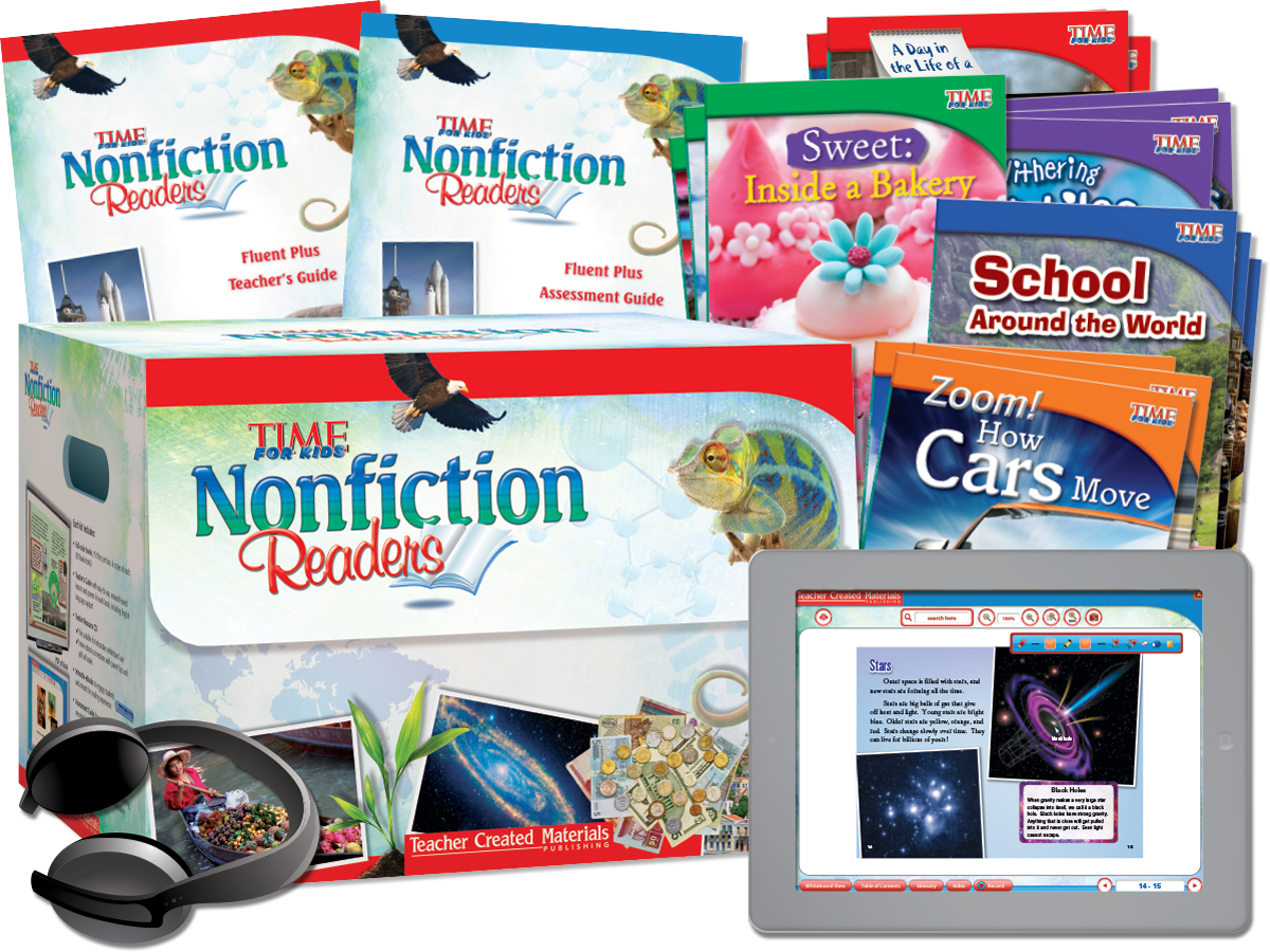 TIME FOR KIDS® Nonfiction Readers: 2nd Edition