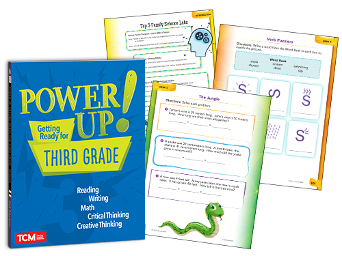 Power Up! Getting Ready for Grades K-5