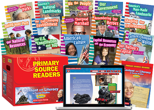 Primary Source Readers To Develop and Improve Students Social