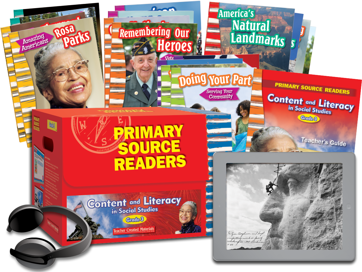 Primary Source Readers Content and Literacy