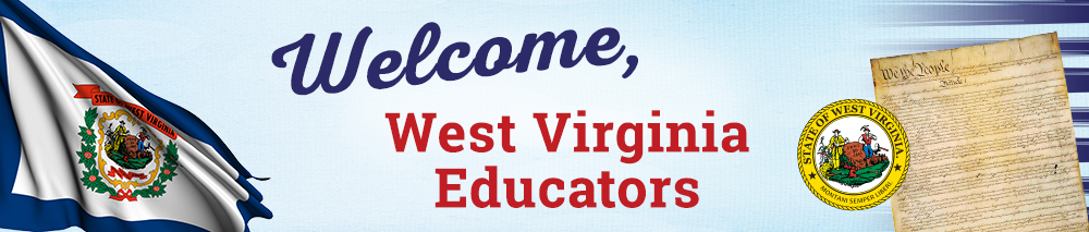 Welcome West Virginia Educators Banner